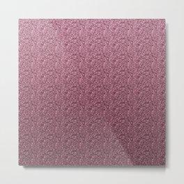 Modern violet glitter illustration  Metal Print
