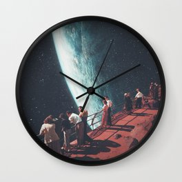 Missing the ones we Left Behind Wall Clock
