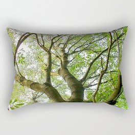 Leaves Reaching To Heaven Rectangular Pillow
