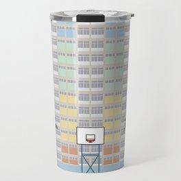 Hong Kong Choi Hung Estate, Wong Tai Sin District, Kowloon Basketball Court Travel Mug