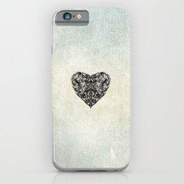 Transparent Heart iPhone Case
