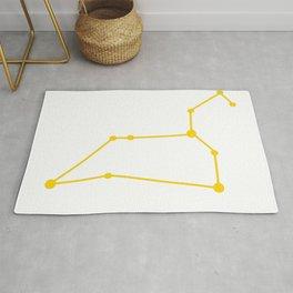 Leo (Yellow & White) Rug