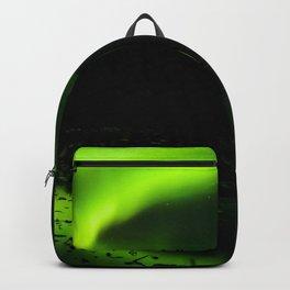 aurora borealis northern lights sky Backpack