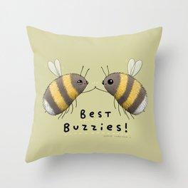 Best Buzzies! Throw Pillow