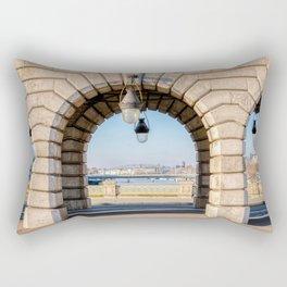 Bercy bridge archs - Paris Rectangular Pillow