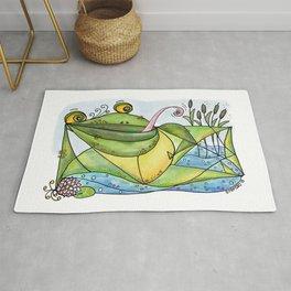 Frog with curls – Lockenfrosch Rug