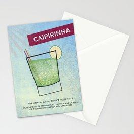 Caipirinha Cocktail Stationery Cards