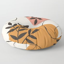 Morning Abstract Floor Pillow