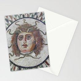 Mosaique Grecque Medusa Stationery Cards