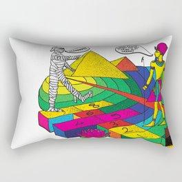 The mummy returns!  Rectangular Pillow