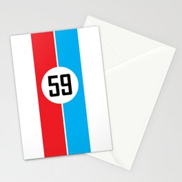 Brumos Racing Stripes Stationery Cards