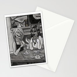 Demon Tea Party Stationery Cards