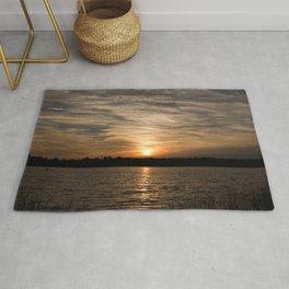 Watercolor Sunset, Janes Island 14, Maryland Rug
