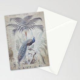 Peacocks Paradise Jungle Fantasy Art Stationery Cards