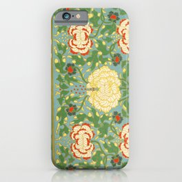 Examples of Chinese Ornament 1867 iPhone Case