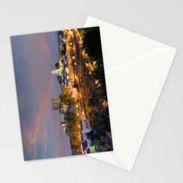 North Portugal, Braganca at dusk Stationery Cards