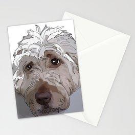Old English Sheep Dog (white) Stationery Cards