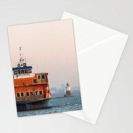 Lighthouse & Staten Island Ferry Stationery Cards