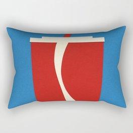 Cup Of Coke Rectangular Pillow