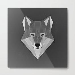 Wolf Geod Metal Print