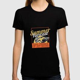 Summer Forecast Jet Ski T-shirt
