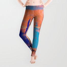 Canvas Abstract Uno Leggings