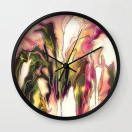 Lily species Wall Clock