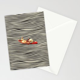 Illusionary Boat Ride 2 Stationery Cards