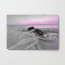 OCEAN WAVES XI Metal Print