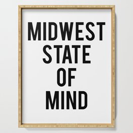 MIDWEST STATE OF MIND Serving Tray