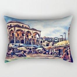 Athens place Rectangular Pillow