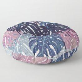 Monstera Melt Floor Pillow