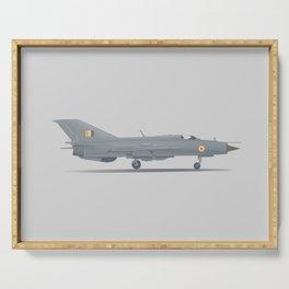 Mikoyan-Gurevich MiG-21 Serving Tray
