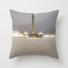 Sankt Petersburg Schlossplatz Throw Pillow