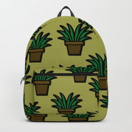 Plant Pattern Backpack
