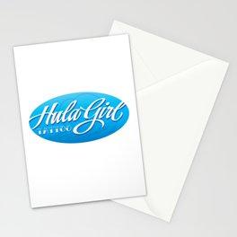 HulaGirlTattoowave Stationery Cards
