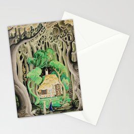 1925 Classical Masterpiece 'Hansel and Gretel by Brothers Grimm' by Kay Nielsen Stationery Cards
