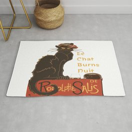 Le Chat  Burns Nuit With Haggis and Dram Rug