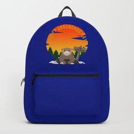 Happy Groundhog Day - Ew, People Backpack