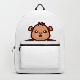 Groundhog Whisperer design Groundhog Day Gift Backpack