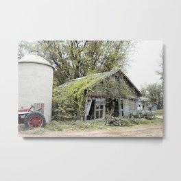 On the Farm Metal Print