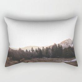 Yellow Mountain Ranch Rectangular Pillow