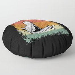 Vintage Piano Player Music Piano Gift Idea Floor Pillow