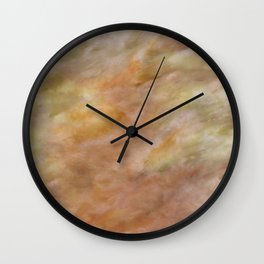 Of Mud Puddles & Grassy Hills Wall Clock