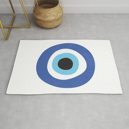 Evil Eye Symbol Rug