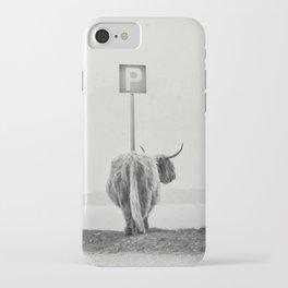 highland visitor iPhone Case