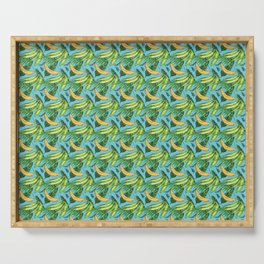 Plantain Paradise Pattern - For true plantain fans Serving Tray