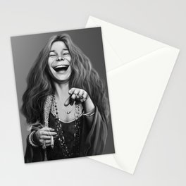 JanisJoplin Stationery Cards