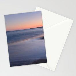 Porto Mos Beach. Algarve. Purple Sunset Stationery Cards