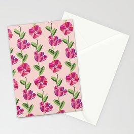 Lovely Azalea Flowers Stationery Cards